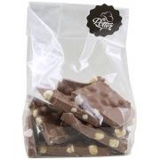 Breekchocolade melkchocolade met hazelnoten