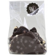 Breekchocolade pure chocolade met hazelnoten