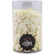Witte chocolade callets
