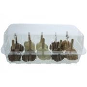 Doosje 10 Mini ijslolly's (Minou)