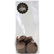Suikervrije rondjes melkchocolade