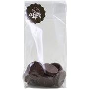 Suikervrije rondjes pure chocolade
